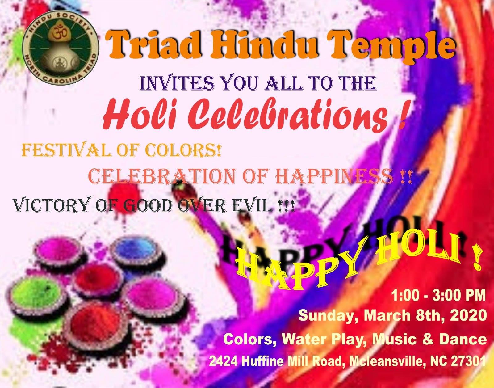 THT Holi Celebrations